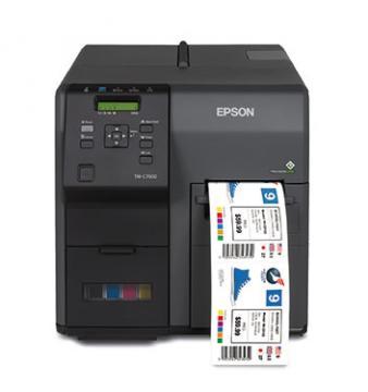 Máy in tem nhãn màu EPSON TM-C7510