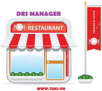 Phần mềm quản lý Nhà hàng, Quán ăn, Quán Cafe - DRS Manager