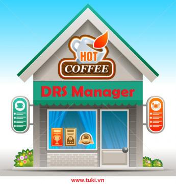 Phần mềm quản lý Quán Cafe, Quán ăn, Nhà hàng - DRS Manager