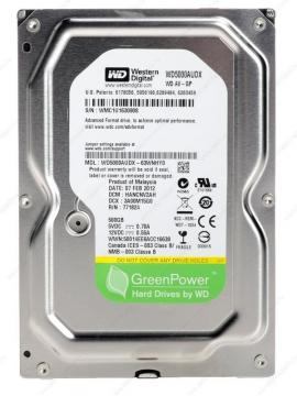 WESTERN DIGITAL HDD AV-GP™ WD5000AVDS (500GB)